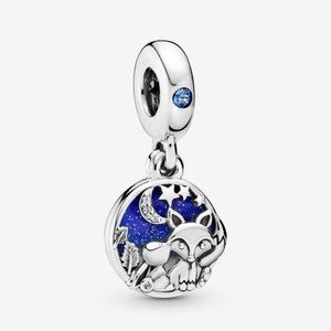 Pandora  Fox & Rabbit Dangle Charm